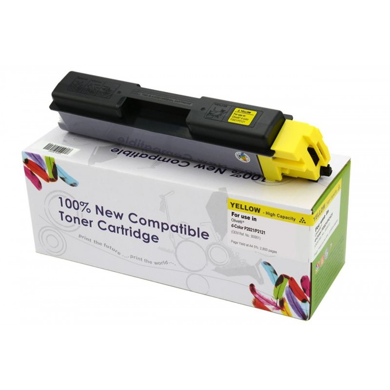 Toner Cartridge Web Yellow OLIVETTI 2021 zamiennik B0951